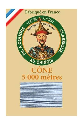 Fil Au Chinois cotton sewing thread 5 000m cone 6705 Glacier