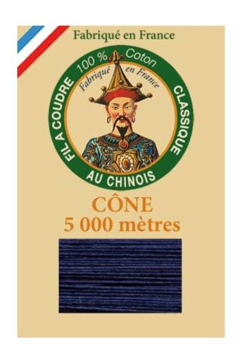 Fil Au Chinois cotton sewing thread 5 000m cone 6766 Earthenware