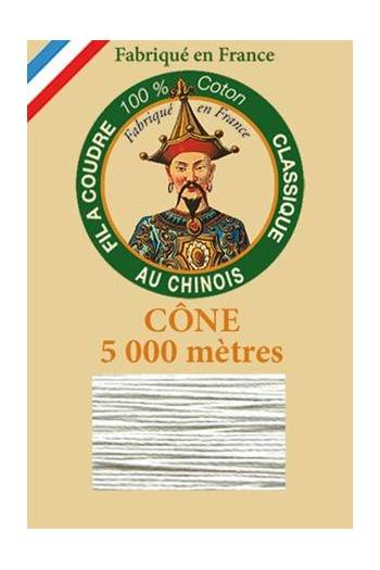 Fil Au Chinois cotton sewing thread 5 000m cone 6108 Shower