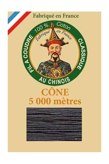 Fil Au Chinois cotton sewing thread 5 000m cone 6147 Cast iron