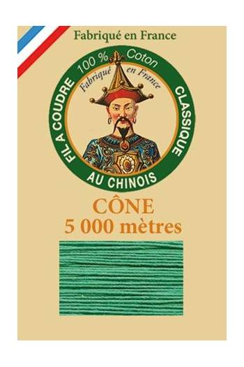 Fil Au Chinois cotton sewing thread 5 000m cone 6811 Mint