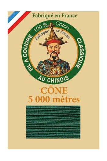 Fil Au Chinois cotton sewing thread 5 000m cone 6889 Garden