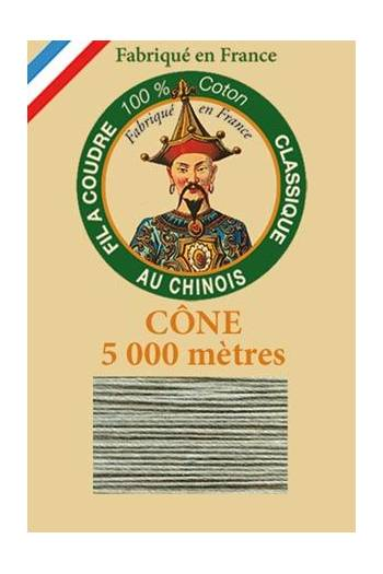 Fil Au Chinois cotton sewing thread 5 000m cone 6805 - Shetland