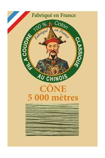 Fil Au Chinois cotton sewing thread 5 000m cone 6846 Thyme