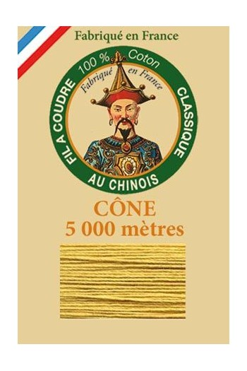 Fil Au Chinois cotton sewing thread 5 000m cone 6336 Automn