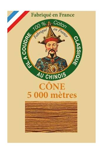 Fil Au Chinois cotton sewing thread 5 000m cone 6225 Leopard
