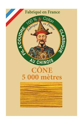 Fil Au Chinois cotton sewing thread 5 000m cone 6362 Wasp