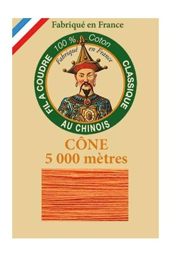 Fil Au Chinois cotton sewing thread 5 000m cone 6390 Marigold