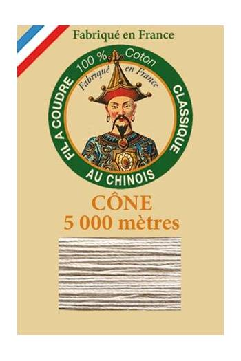 Fil Au Chinois cotton sewing thread 5 000m cone 6294 Deer