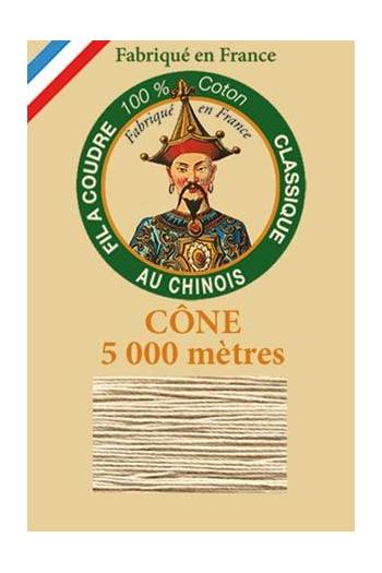 Fil Au Chinois cotton sewing thread 5 000m cone 6212 Resin