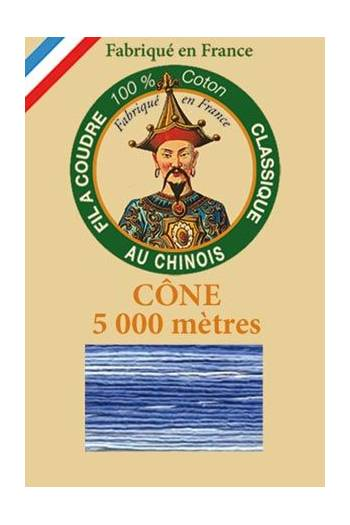 Fil Au Chinois cotton sewing thread 5 000m cone 6947 Ocean