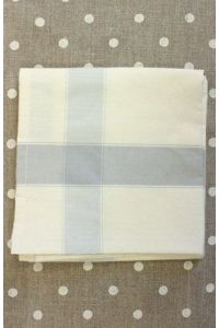 Tea towel to embroider with 6.5 Aida Ecru/Grey