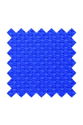 5.5 count Aida fabric 50 x 80cm swatch Cotton - French blue