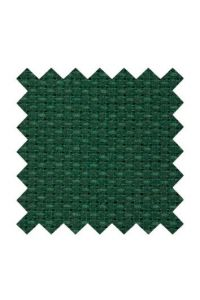 5.5 count Aida fabric  50 x 80cm swatch Cotton - Pine green