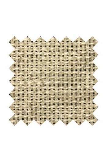 5.5 count Aida fabric 50 x 80cm swatch Linen - natural