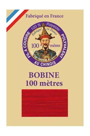 Universalgarn Polyester 100 Meter Spule - 370 – Rot