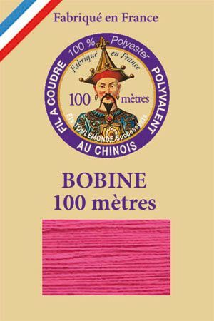 Polyester sewing thread - 100 m spool - n° 148 - Indian Rose