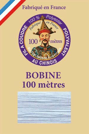 Polyester sewing thread - 100 m spool - n° 039 - Iceburg