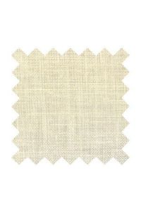 40 count linen to embroider  50 x 70 cm swatch Col. Off white