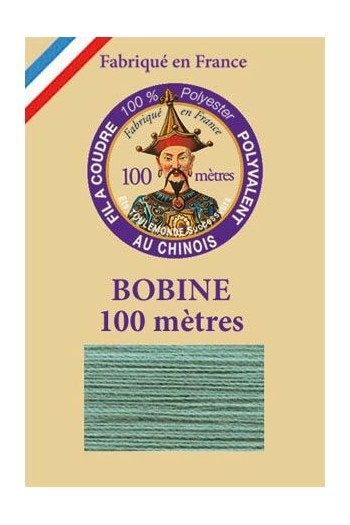 Polyester sewing thread - 100m spool - n°780 - Teal