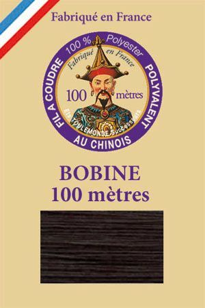 Polyester sewing thread - 100 m spool - n° 076 - Bottle