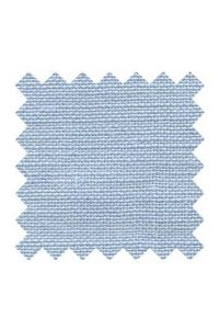 32 count linen to embroider 14 X 14cm square  - Col. Sajou blue