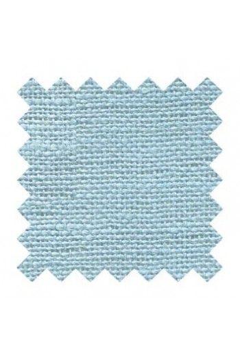 Lin à broder 12 fils au cm carré 14 x 14 cm Coloris Azur