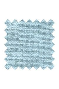 32 count linen to embroider 14 X 14cm square  - Col. Azure