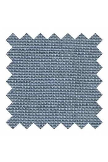 32 count linen to embroider 14 X 14cm square  - Col. Slate grey