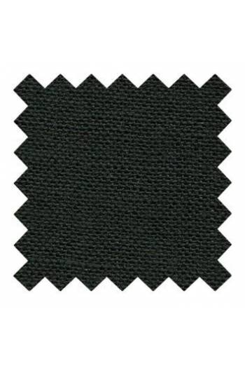 32 count linen to embroider 14 X 14cm square - Col. Black
