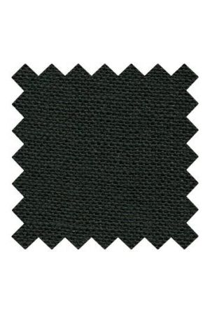 32 count linen to embroider 14 x 14cm - Black