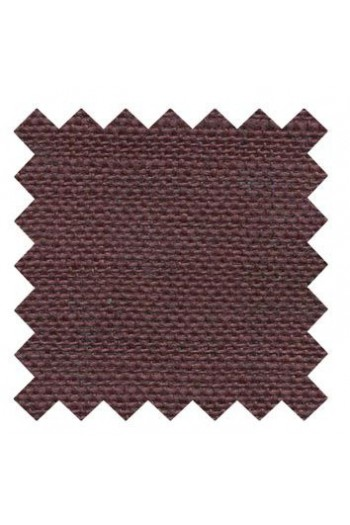 Lin à broder 12 fils au cm carré 14 x 14 cm Lie de vin