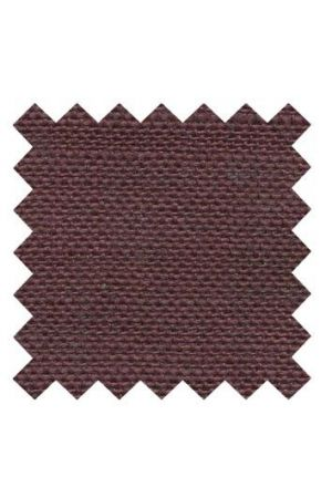 32 count linen to embroider 14 x 14cm - Burgundy