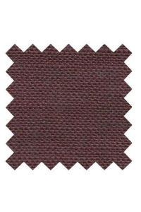 32 count linen to embroider 14 X 14cm square  - Col. Burgundy