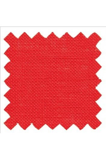 32 count linen to embroider 14 X 14cm square  - Col. Scarlett