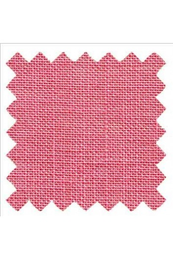 32 count linen to embroider 14 X 14cm square - Col. Azalia