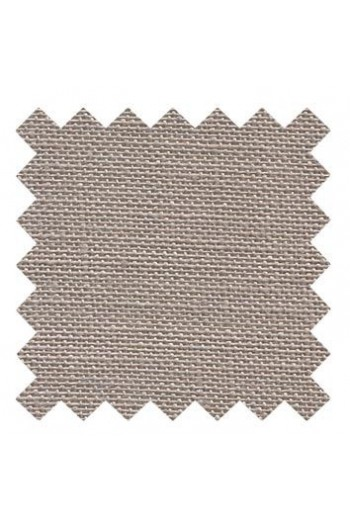 32 count linen to embroider 14 X 14cm square - Col. Sepia