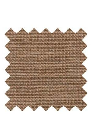 32 count linen to embroider 14 x 14cm - Bark