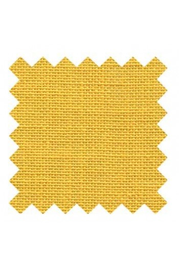 32 count linen to embroider 14 X 14cm square - Col. Mustard