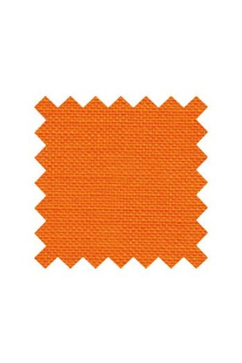 32 count linen to embroider 14 X 14cm square  - Col.  Sajou Orange