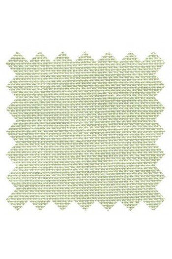 32 count linen to embroider 14 X 14cm square - Col. Lime tree