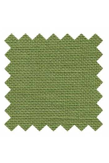 32 count linen to embroider 14 X 14cm square - Col. Frog