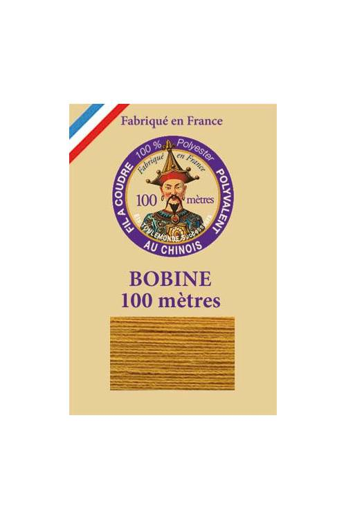 Polyester sewing thread - 100m spool - n°5420 - Ocre