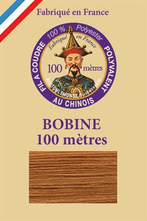 Polyester sewing thread - 100 m spool - n° 564 - Copper