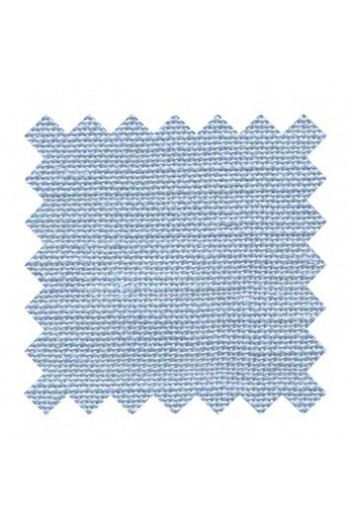 32 count linen to embroider 50 x 70cm swatch - Col. Sajou Blue