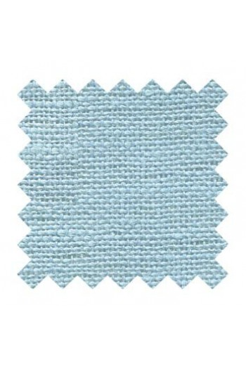 32 count linen to embroider 50 x 70cm swatch - Col. Azure