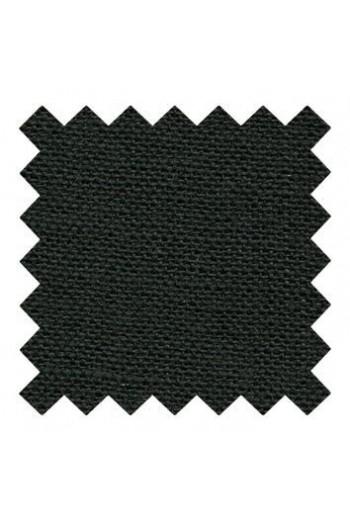 Lin à broder 12 fils au cm Coupon 50 x 70 cm Coloris Noir