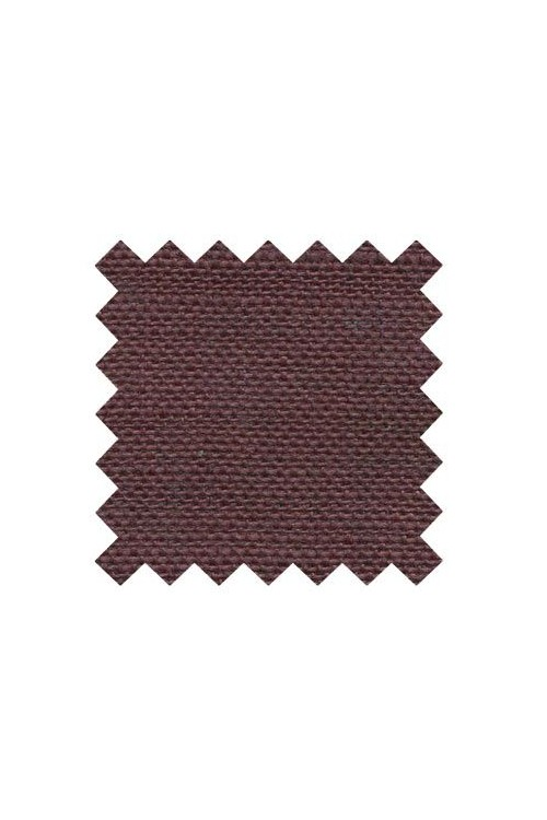 32 count linen to embroider 50 x 70cm swatch - Col. Burgundy