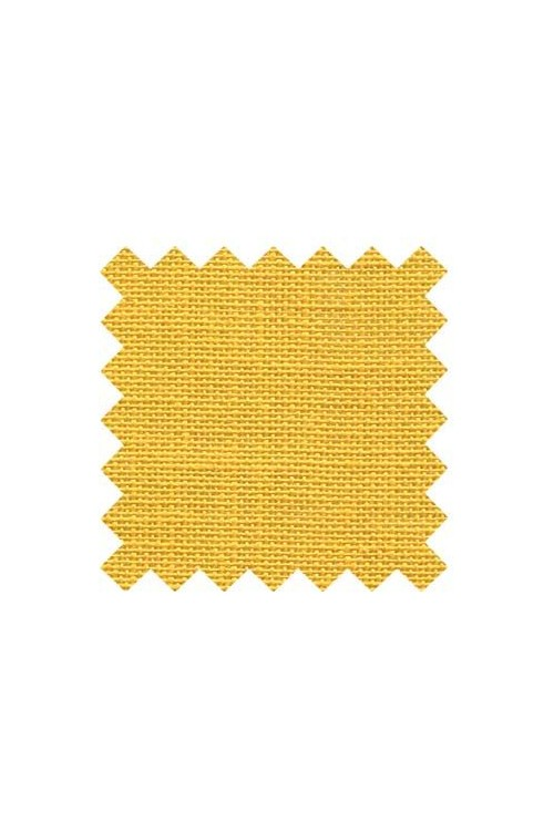 32 count linen to embroider  50 x 70cm swatch - Col. Mustard