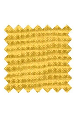 32 count linen to embroider  50 x 70cm - Mustard